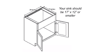 what is minimum base cabinet width what size bar sink should you buy a comprehensive guide