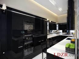 black kitchen furniture 8628