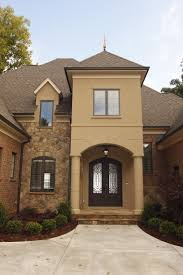 alluring stucco and stone exteriors decor small room paint color
