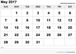 print calendars for 2017 free may 2017 printable calendar pdf word excel vertical landscape