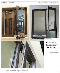 chinede aluminum framed trackless balcony sliding partition door