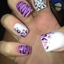zebra pattern nail art 37 amazing purple nail designs nail design ideaz