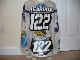 signed motocross jersey supercross motocross memorabilia moto related motocross