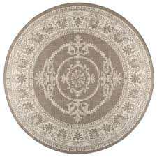Round Indoor Outdoor Rug Round 7 U0027 And Larger Flat Woven Outdoor Rugs Rugs The Home