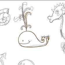 create a summer underwater seamless pattern in adobe illustrator