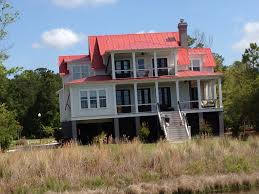 drexel metals country red 5v crimp metal roof charleston sc