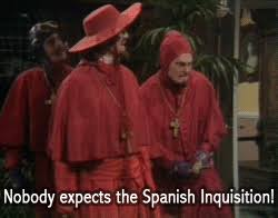 Spanish Inquisition Meme - taking a massive dump spanish inquisition and funny things