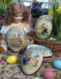german paper mache easter eggs german paper eggs but mine out every easter and decorate my tree