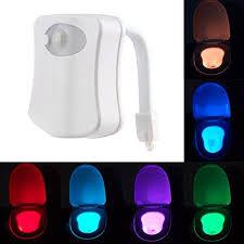 Bathroom Uv Light Led Toilet Nightlight Lightingwill Colorful Motion Sensor Home