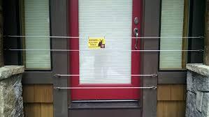 Hunting Blind Windows And Doors Bear Fences For Doors Windows U0026 More Tahoe Bear Busters