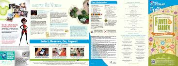 2015 epcot flower and garden festival guide map photo 1 of 2