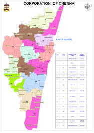 Dc Ward Map Welcome To Greater Chennai Corporation