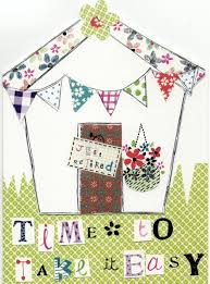 retirement card time to take it easy paper salad greeting card cards kates