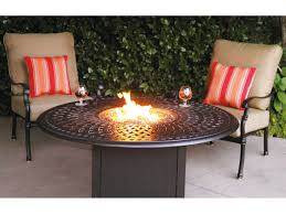 60 In Round Dining Table Darlee Outdoor Living Series 60 Cast Aluminum 60 Round Propane