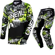 youth motocross jerseys oneal element 2018 attack youth motocross jersey u0026 pants black hi