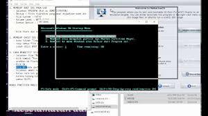 cara membuat bootable xp pada flashdisk cara membuat ghost dos usb youtube
