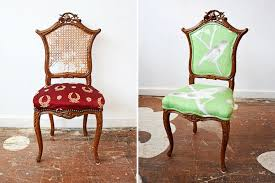 Antique Accent Chair Popular Of Antique Accent Chair Before After Accent Chairs