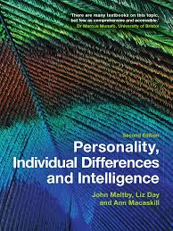 personality individual differences and intelligence bd