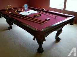 brunswick 3 piece slate pool table pool table brunswick for sale in ohio classifieds buy and sell in
