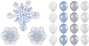 snowflake balloons cheap snowflake party find snowflake party deals on line at