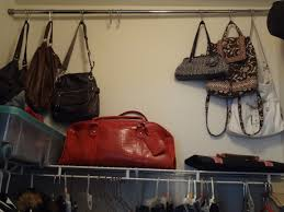 organize purses pure u0026 simple organizing