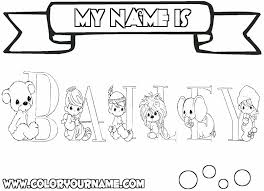 printable coloring pages bailey