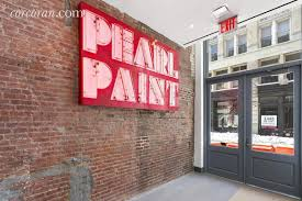 pearl paint u0027s former canal street shop is now home to four pricey
