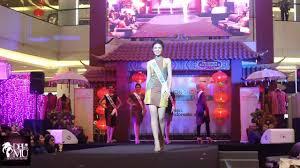 Sho Putri fashion show puteri indonesia 2016 sumatera utara