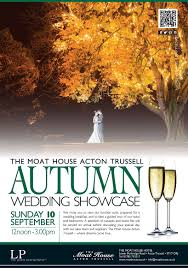 the moat house hotel autumn wedding showcase 10th september 2017