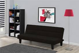 Black Sofa Bed Dhp Kebo Futon Black Sofa Bed Walmart Canada