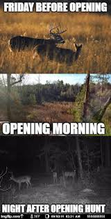 Hunting Meme - it s opening day for deer hunting imgflip