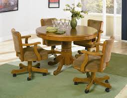 Poker Table Chairs With Casters by Alcott Hill 47 25