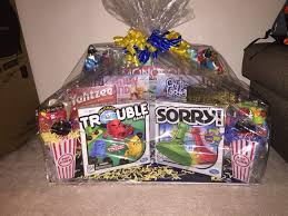 family gift basket ideas plastic boxes family gift basket with food parcel and yellow and