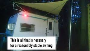 Awning For Tent Trailer Sun Shade For Travel Trailer Or Rv 70 8 Steps With Pictures
