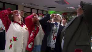 get turned up for the holidays with the biggest office christmas