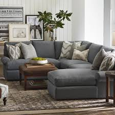Bassett Furniture Austin Tx by Left Cuddler Sectional Love The Idea Of A Gray Couch Yellow