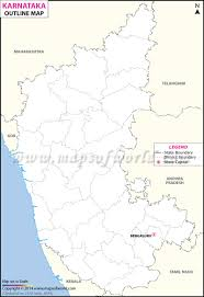 India Blank Outline Map by Outline Map