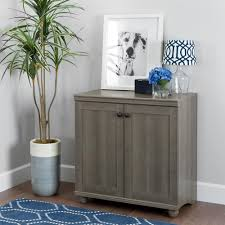 south shore storage cabinet south shore hopedale gray maple 2 door storage cabinet 10323 the
