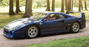 blue f40 why is this s f40 blue