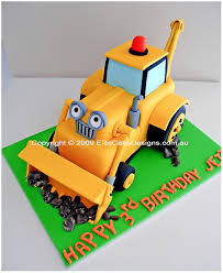 scoop birthday cake bob builder birthday cake children