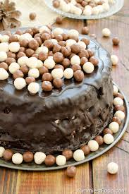 chocolate layer cake with cream cheese filling recipe from