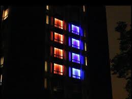 led lights for dorm uiuc dorm led light show youtube