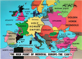 Medieval Maps Late Medieval Europe Map Suggests Me