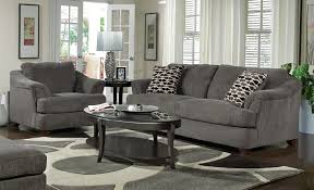 Dark Gray Living Room Furniture by Grey And Yellow Living Room Sofa Chairs Wooden Desk White Wall