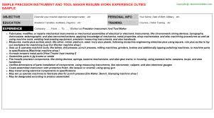 Landscaping Job Description For Resume by Instrument Fitter Resumes Samples
