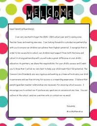the 25 best classroom welcome letter ideas on pinterest