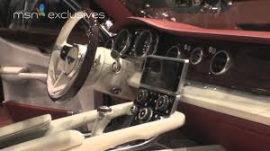 new bentley interior bentley suv 4x4 exp 9 f at geneva motor show youtube