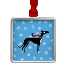 whippet ornaments keepsake ornaments zazzle