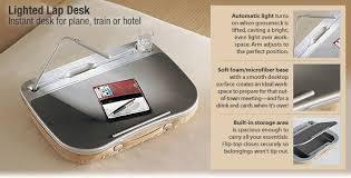 Lap Desk With Storage Compartment Lap Desk With Light Gadgetgrid