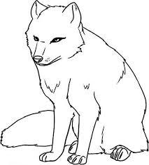 head clipart arctic wolf pencil color head clipart arctic